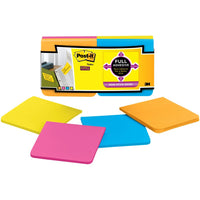 "Post-It Super Sticky Full Adhesive Notes 3"" X 3"" 12 pack"