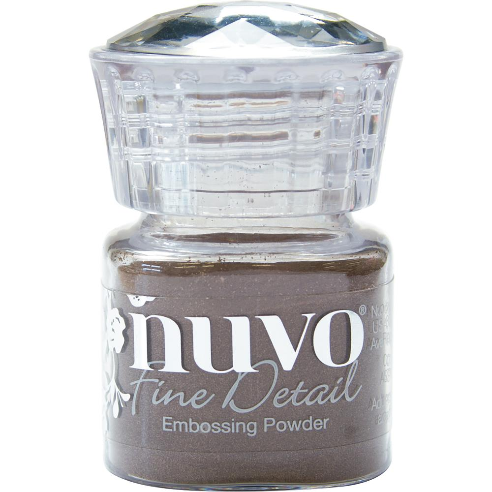 Copper Blush Nuvo Embossing Powder Fine Detail .68oz - Scrap of Paradise