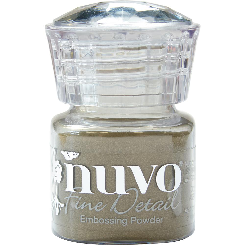 Classic Gold Nuvo Embossing Powder Fine Detail .68oz - Scrap of Paradise