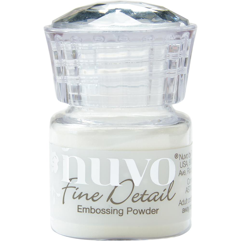 Clear Nuvo Embossing Powder Fine Detail .68oz - Scrap of Paradise