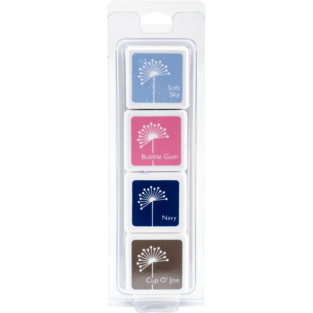 Hero Arts Dye Ink Cubes 4/Pkg - Birds and Blossoms - Scrap of Paradise