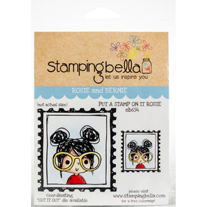 Stamping Bella Put A Stamp On It Rosie Stamp Set