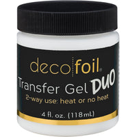 Deco Foil Transfer Gel DUO 4Fl Oz
