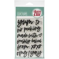 "Avery Elle Clear Stamp Set 4"" X 6"" Gifted"