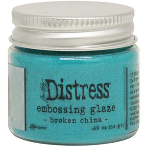 Tim Holtz Distress Embossing Glaze, Broken China