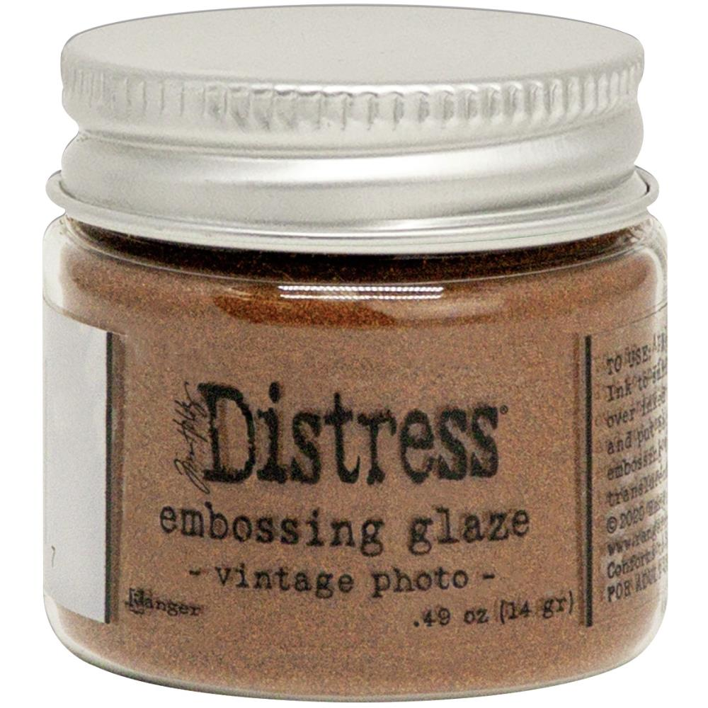 Tim Holtz Distress Embossing Glaze, Vintage Photo