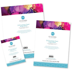 "ETC Papers Synthetic Paper 5"" X 7"" 10/sheets"