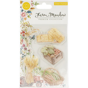 Craft Consortium A5 Clear Stamps Farm Meadow Harvest