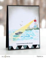 Altenew Be a Lighthouse Stamp - Scrap of Paradise