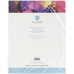 "ETC Papers Synthetic Paper 11""X14"" 10/sheets"