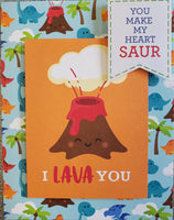 I Lava You Card Kit by Scrap of Paradise