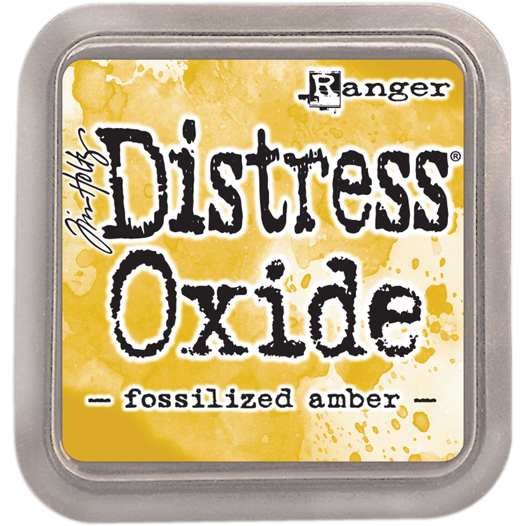 Fossilized Amber Distress Oxides - Scrap of Paradise
