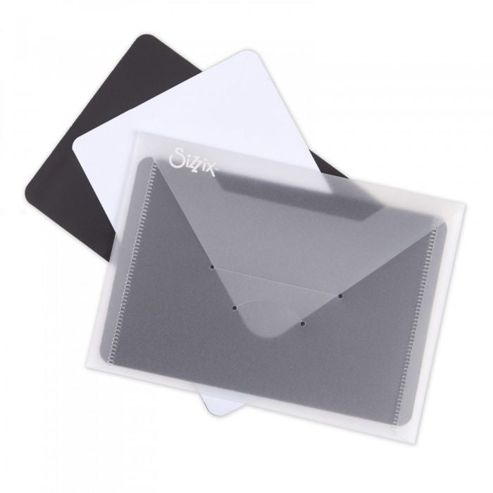 Sizzix Envelopes with a Magnetic Sheet. 3 complete pieces