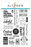Altenew Crafty Life Stamp