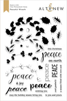 Altenew Peaceful Wreath Stamp