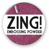 American Crafts Zing! Glitter Embossing Powder 1oz Red (Metallic)