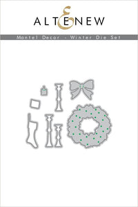 Altenew Mantel Decor - Winter Die Set