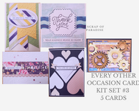 Every Other Occasion Card Kit Set 3 by Scrap of Paradise - 19