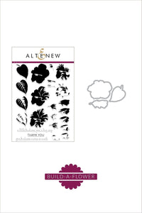 Altenew Hibiscus Stamp and Die Set