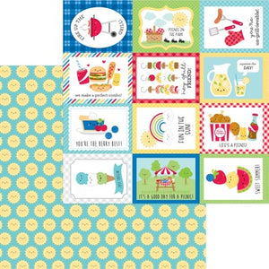 Doodlebug Bar-B-Cute 12 x 12 Paper Summer Sun