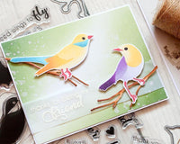 Altenew Layered Birds of a Feather Stamp and Die Set