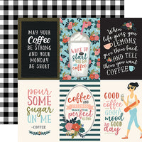 Echo Park Coffee 4 x 6 Vertical Journaling Cards