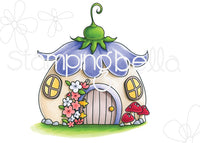 "Stampingbella ""LITTLES"" Fairy House Stamp Set"