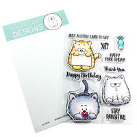 All Cats Gerda Steiner Designs Stamp
