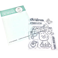 Little Reindeer Gerda Steiner Designs Stamp