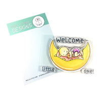 Hello Little One Gerda Steiner Designs Stamp