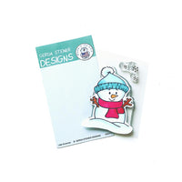 Little Snowman Gerda Steiner Designs Stamp