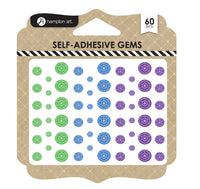 Hampton Art Self-Adhesive Gem Cool
