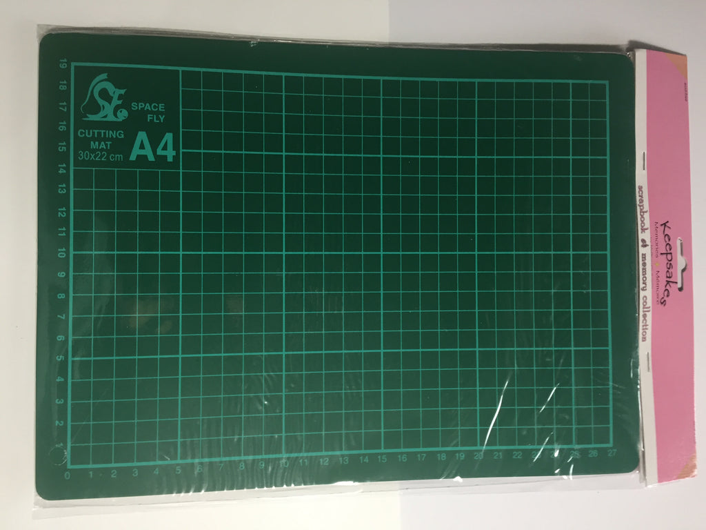"9"" x 12.5"" Self Healing green Cutting Mat - Scrap of Paradise"