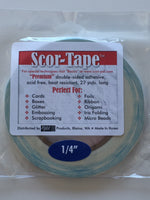 "Scor-tape 1/4"" - Scrap of Paradise"
