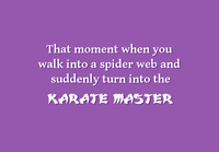 Karate Master Two Lips Stamp