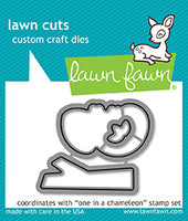 One In A Chameleon Lawn Fawn Die