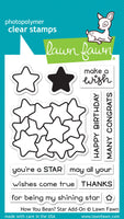 Lawn Fawn How you bean? Star Add-On Stamp