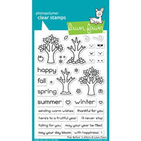 "Lawn Fawn Clear Stamps 4""X6"" Tree Before 'n Afters"