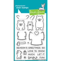 "Lawn Fawn Clear Stamps 4""X6"" Snow Much Fun"
