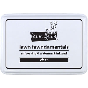 Lawn Fawn Embossing Full Ink Pad - Clear