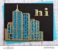 Altenew Layered Cityscape Die Set A & B - Scrap of Paradise