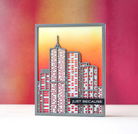 Altenew Layered Cityscape Die A - Scrap of Paradise