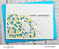 Altenew Layered Floral Die A - Scrap of Paradise