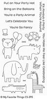 Safari Party My Favorite Things Clear Stamp Set