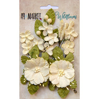 49 and Market Wildflower Flowers Cream
