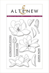 Altenew Magnolias For Her Stamp Set