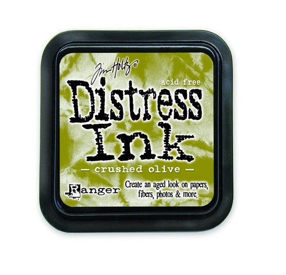 Crushed Olive Distress Ink