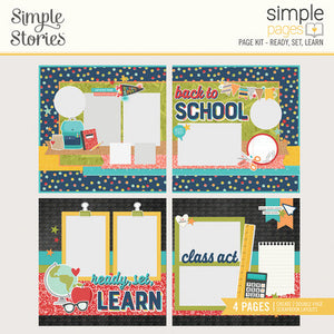 Simple Stories Simple Pages Page Kit Ready Set Learn