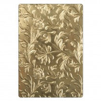 "Sizzix 3-D Botanical Embossing Folder 6.5"" x 4.5"""