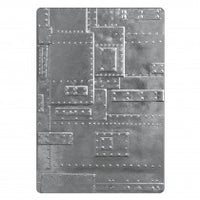 "Sizzix 3-D Foundry Embossing Folder 6.5"" x 4.5"""